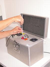 manual calibration of mercury analyzer
