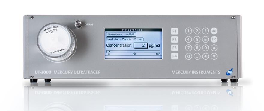 UT 3000 mercury analyzer