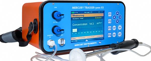 Mercury Vapor Analyzer