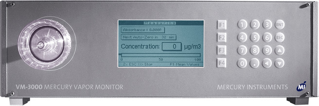 VM 3000 Mercury Vapor Monitor