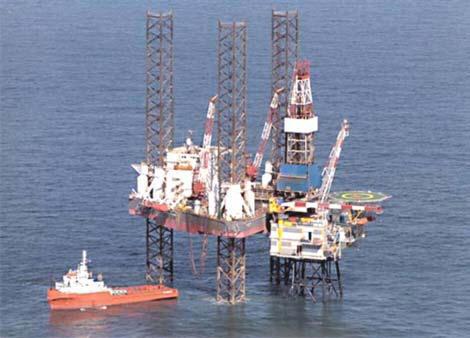 mercury monitoring on natural gas rig